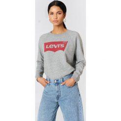 Odzież damska: Levi's Luźna bluza Graphic Crew - Grey