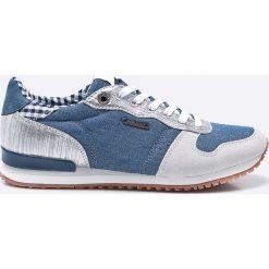 Pepe Jeans - Buty. Szare buty sportowe damskie Pepe Jeans, z jeansu. W wyprzedaży za 179,90 zł.