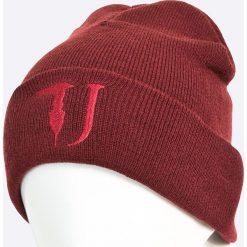 Trussardi Jeans - Czapka. Brązowe czapki zimowe męskie marki Trussardi Jeans, na zimę, z dzianiny. W wyprzedaży za 119,90 zł.