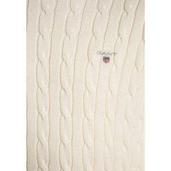GANT CABLE CREW Sweter cream. Szare swetry chłopięce marki GANT, z bawełny. Za 379,00 zł.