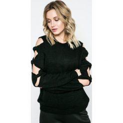 Missguided - Sweter. Szare swetry klasyczne damskie marki Missguided, l, z dzianiny, z okrągłym kołnierzem. W wyprzedaży za 69,90 zł.