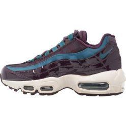 Trampki damskie slip on: Nike Sportswear AIR MAX 95 SE PRM Tenisówki i Trampki port wine/light orewood brown/space blue