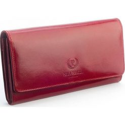 Ekskluzywny portfel damski Paolo Peruzzi duża kopertówka. Czerwone puzderka Paolo Peruzzi, ze skóry, eleganckie, duże. Za 179,00 zł.