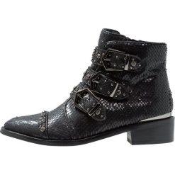 Alma en Pena Ankle boot black. Czarne botki damskie skórzane Alma en Pena. Za 669,00 zł.