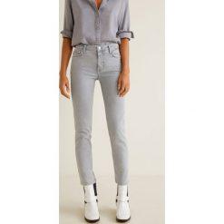 Mango - Jeansy Grey. Szare jeansy damskie Mango, z jeansu. W wyprzedaży za 83,93 zł.