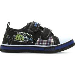 Buty dziecięce: Czarne Trampki School Junior