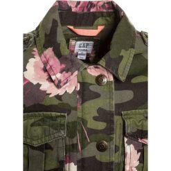 GAP GIRLS  Kurtka przejściowa green. Brązowe kurtki dziewczęce przeciwdeszczowe GAP, z bawełny. Za 239,00 zł.