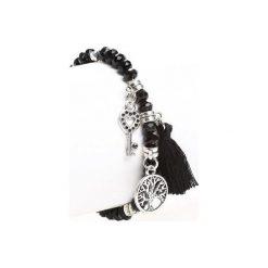 Biżuteria i zegarki damskie: Czarna Bransoletka All Comes Back