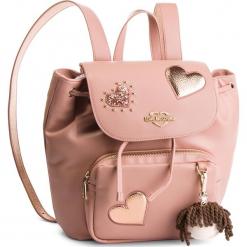 Plecak LOVE MOSCHINO - JC4061PP17LF0600 Rosa. Czerwone plecaki damskie Love Moschino, ze skóry ekologicznej, klasyczne. Za 959,00 zł.