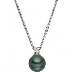 Naszyjnik z zawieszką - dł. 42 cm. Szare naszyjniki damskie Pearls Special, z mosiądzu. W wyprzedaży za 68,95 zł.