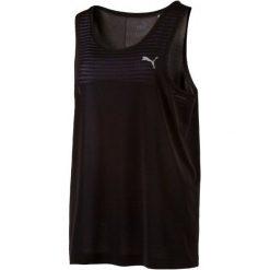 Puma Koszulka Sportowa Evoknit Tank W Black Xs. Czarne bluzki sportowe damskie marki Puma, xs, ze skóry, z dekoltem na plecach. W wyprzedaży za 65,00 zł.