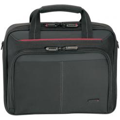 """Targus Classic Clamshell Case 15,6"""" czarna. Czarne torby na laptopa marki Targus, w paski. Za 79,90 zł."""