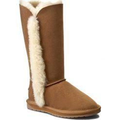 Buty EMU AUSTRALIA - Platinum Kolora WP10534 Chestnut. Brązowe buty zimowe damskie EMU Australia, ze skóry, na niskim obcasie. Za 859,00 zł.