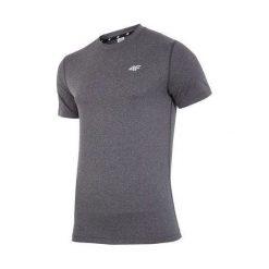T-shirty męskie: 4f 4F T-shirt męski H4Z17-TSMF001 szary r. L