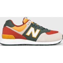 New Balance - Buty ML574IND. Szare buty skate męskie New Balance, z materiału. Za 349,90 zł.