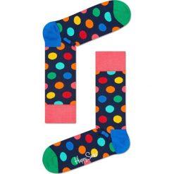 Happy Socks - Skarpetki Big Dot. Szare skarpetki damskie Happy Socks, z bawełny. Za 39,90 zł.