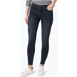 Spodnie z wysokim stanem: Review - Jeansy damskie, niebieski