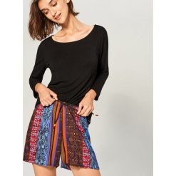 Piżama z szortami - Bordowy. Czerwone piżamy damskie Reserved, l. Za 79,99 zł.