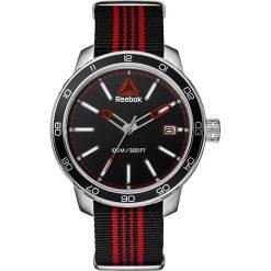 Zegarki męskie: Zegarek kwarcowy w kolorze srebrno-czarno-czerwonym