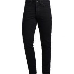 New Look Jeansy Slim Fit black. Czarne jeansy męskie marki New Look, z materiału, na obcasie. Za 129,00 zł.