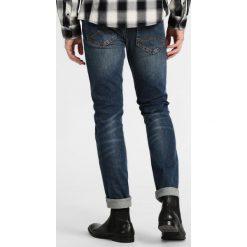 Mustang OREGON TAPERED Jeansy Slim fit stone washed. Czarne jeansy męskie relaxed fit marki Mustang, l, z bawełny, z kapturem. W wyprzedaży za 237,30 zł.