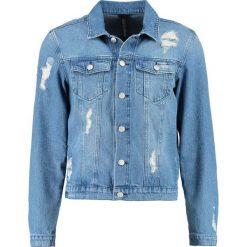 Kurtki męskie bomber: Brooklyn's Own by Rocawear Kurtka jeansowa blue denim