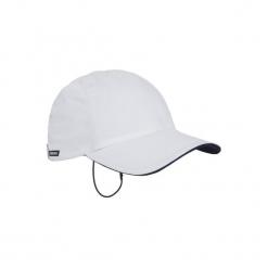 Czapka z daszkiem żeglarska cruise. Białe czapki z daszkiem damskie marki TRIBORD, z bawełny. W wyprzedaży za 18,99 zł.