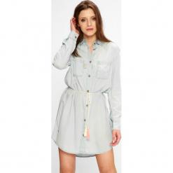 Femi Stories - Sukienka Storm. Szare sukienki mini marki Femi Stories, na co dzień, l, z lyocellu, casualowe. W wyprzedaży za 199,90 zł.
