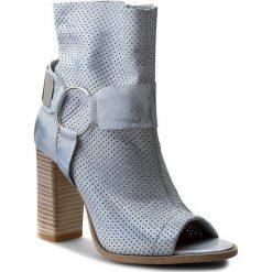 Buty zimowe damskie: Botki R.POLAŃSKI - 0824/L Błękit Przec