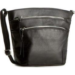 Torebka CREOLE - K10215 Czarny. Czarne torebki klasyczne damskie Creole, ze skóry. Za 169,00 zł.