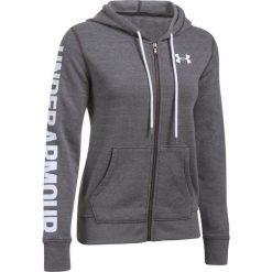 Bluzy sportowe damskie: Under Armour Bluza damska Favorite FZ Hoodie szara r.S (1302361-090)