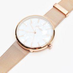 Zegarki damskie: Zegarek w kolorze rose gold - Złoty