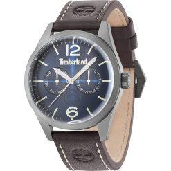 """Zegarki męskie: Zegarek kwarcowy """"Middelton II"""" w kolorze ciemnobrązowo-srebrno-niebieskim"""
