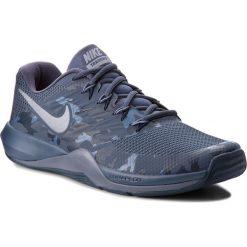 Buty NIKE - Lunar Prime Iron II 908969 401 Thunder Blue/Mtlc Cool Grey. Niebieskie buty fitness męskie Nike, z materiału. W wyprzedaży za 249,00 zł.