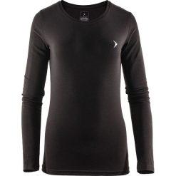 Outhorn Koszulka damska HOZ17-TSDL600 czarna r. M. Szare topy sportowe damskie marki Outhorn, melanż, z bawełny. Za 44,34 zł.