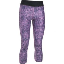 Spodnie sportowe damskie: Under Armour Spodnie damskie HeatGear Armour PrintGrap Capri różowe r. M (1302774-924)