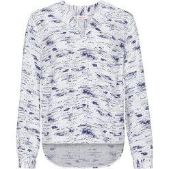 Bluzki damskie: Bluzka z nadrukiem, długi rękaw bonprix biel wełny z nadrukiem