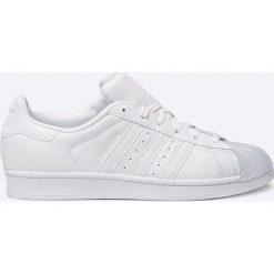 Adidas Originals - Buty Superstar Glossy. Szare buty sportowe damskie adidas Originals, z materiału. W wyprzedaży za 349,90 zł.