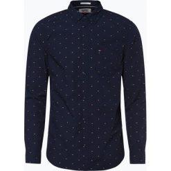 Tommy Jeans - Koszula męska, niebieski. Niebieskie koszule męskie jeansowe marki Tommy Jeans, l. Za 359,95 zł.
