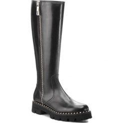 Kozaki BALDININI - 949177PGLOV000000KXX Nero. Czarne buty zimowe damskie Baldinini, ze skóry, na obcasie. Za 3119,00 zł.