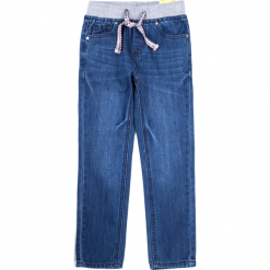 Spodnie. Niebieskie chinosy chłopięce COLLECTION JEANS BOY, z bawełny. Za 79,90 zł.