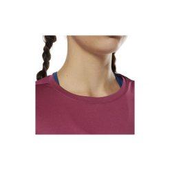 T-shirty z krótkim rękawem Reebok Sport  Koszulka Running. Czerwone bluzki sportowe damskie Reebok Sport, l, z krótkim rękawem. Za 99,95 zł.