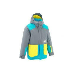Kurtka narciarska FREE 500. Żółte kurtki męskie marki ATORKA, xs, z elastanu. Za 179,99 zł.