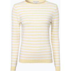 Marie Lund - Sweter damski z dodatkiem kaszmiru, żółty. Żółte swetry klasyczne damskie Marie Lund, xs, z kaszmiru. Za 69,95 zł.