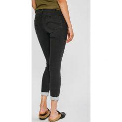 Lee - Jeansy Scarlett. Szare jeansy damskie rurki Lee, z bawełny. Za 329,90 zł.