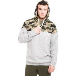 Męska bluza MF Army. Szare bluzy męskie rozpinane Astratex, m, z napisami, z tkaniny. Za 125,99 zł.