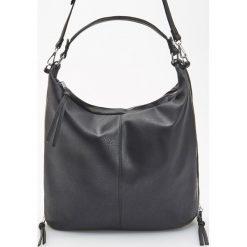 Torba hobo - Czarny. Czarne torebki klasyczne damskie Reserved. Za 149,99 zł.