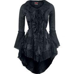Jawbreaker Victorian Jacket Kardigan damski czarny. Czarne kardigany damskie Jawbreaker, s, w koronkowe wzory, z koronki. Za 324,90 zł.
