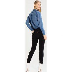 LOIS Jeans CORDOBA Jeans Skinny Fit black. Czarne jeansy damskie marki LOIS Jeans, z bawełny. W wyprzedaży za 252,45 zł.