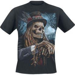 T-shirty męskie z nadrukiem: Spiral Voodoo Catcher T-Shirt czarny